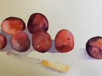 Scattered Plums