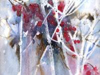 Winter Hedgerow