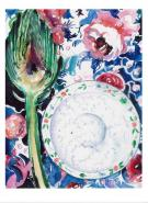 Artichoke and Roses Card